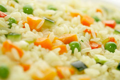 Rice & Vegetables Royalty Free Stock Photos