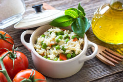 Rice and vegetables Royalty Free Stock Photography