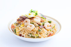 Rice Vermicelli (Chinese Noodle) Royalty Free Stock Photos