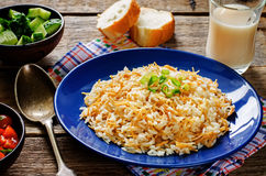 Rice with vermicelli Royalty Free Stock Photography