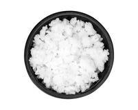 Rice w filiżance odizolowywającej na białym tle Zdjęcie Stock