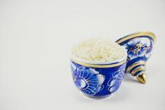 Rice w filiżance zdjęcie royalty free