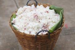 Rice w koszu Fotografia Royalty Free