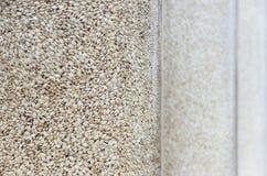 Rice W słoju Zdjęcie Stock