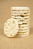 Rice wafers Stock Images