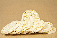 Rice wafers Royalty Free Stock Photos