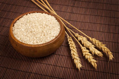 Rice and Wheat Stock Photos