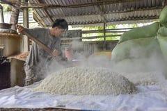 Rice wine factory, Mekong delta, Vietnam Stock Photos