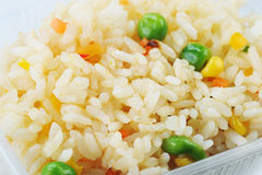 Rice With Peas Stock Photography