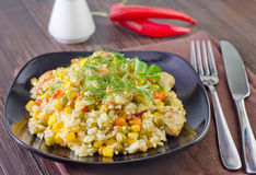 Free Rice With Vegetables Royalty Free Stock Photography - 33313027