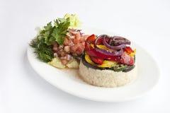 Rice z garnirunkiem Zdjęcia Royalty Free