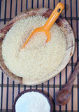 Rice z mąką fotografia royalty free