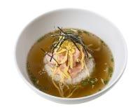 Rice z łososiem i omelette Fotografia Royalty Free