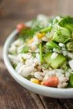 Rice z warzywami Obrazy Stock