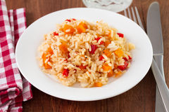 Rice z warzywami zdjęcia royalty free