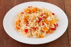 Rice z warzywami zdjęcie royalty free