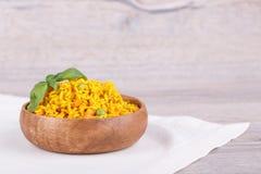 Rice z zielonymi grochami Zdjęcie Stock