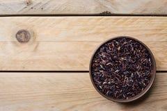 Riceberry pode dentro imagem de stock royalty free