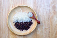 Riceberry Rice Royalty Free Stock Images