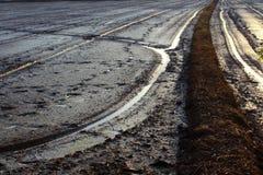 Ricefield przed lochą Zdjęcie Royalty Free