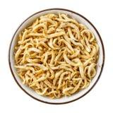 Ricefish of uiterst kleine ansjovis stock afbeeldingen