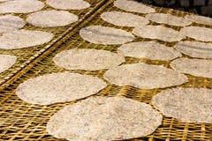 Ricepaper在越南 免版税库存图片