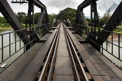 Ricer Kwai bridge railway Stock Photography