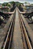 Ricer Kwai bridge railway Royalty Free Stock Photos