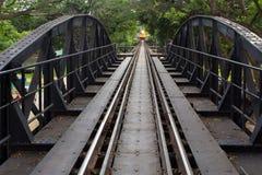 Ricer Kwai bridge railway Stock Photo