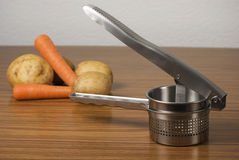 Ricer and vegetables Stock Photos