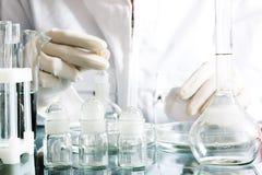 Ricerca chimica Fotografie Stock