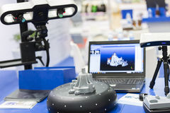 ricerca 3D Fotografia Stock