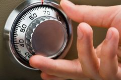 Ricerca del codice fotografia stock libera da diritti