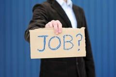 Ricerca del job Fotografie Stock Libere da Diritti