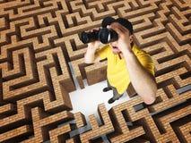 Ricerca della soluzione Fotografia Stock