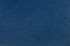 Ricerca di alta risoluzione della carta blu di mezzanotte della fibra Fotografie Stock Libere da Diritti