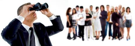 Ricerca di businessteam Immagini Stock Libere da Diritti
