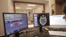 Ricerca di CT all'ospedale archivi video