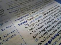 Ricerca di felicità fotografie stock libere da diritti
