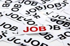 Ricerca di job Fotografie Stock