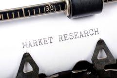 Ricerca di mercato Immagini Stock