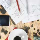 Ricerca e sviluppo Immagini Stock