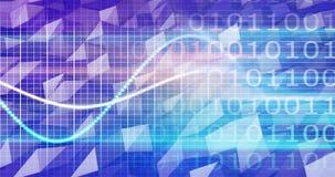 Ricerca e sviluppo di scienza medica come fondo illustrazione di stock