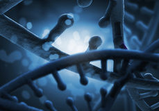 Ricerca genetica in biotecnologia fotografie stock libere da diritti