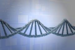 Ricerca genetica in biotecnologia Fotografie Stock