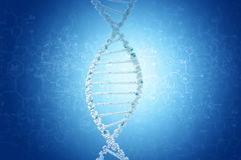 Ricerca genetica in biotecnologia Immagini Stock