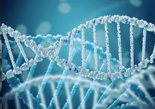 Ricerca genetica in biotecnologia Fotografia Stock