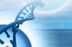 Ricerca genetica in biotecnologia Immagine Stock Libera da Diritti