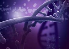 Ricerca genetica in biotecnologia Immagini Stock Libere da Diritti