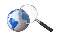 Ricerca globale Fotografia Stock